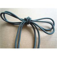 China Colored Cotton Cord for garment Braided Fabric Waxed Cotton Cord for Shoelace wholesale