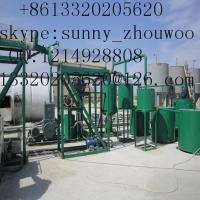 China ZSA Black Oil Extraction Equipment,Oil Distillation Equipment  to base oil Manufacturer wholesale