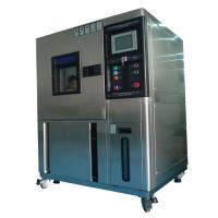 China IEC 60068 Programmable High And Low Temperature Test Chamber With 150L Volume wholesale