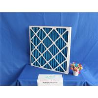 China Reusable Primary Ac Air Filter Panel Synthetic Filter Media Low Intial Resistance wholesale