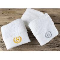 China 100% Cotton Platinum Satin Hotel Face Towel wholesale