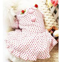 China 2012 brand new beautiful pink dog skirt dog clothes 30pcs/lot drop shipping wholesale