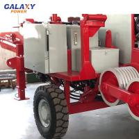 China Max Intermittent Pull 90KN Cable Pulling Equipment Diesel 118kw 158hp on sale