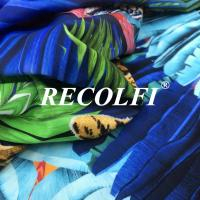 China Printed Spandex Sublimation Digital Recycled Elastane For Running Gear Yoga Clothes wholesale