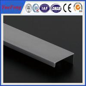 China New design 6063 or 6061 aluminum extrusion profiles for aluminum roll up door wholesale