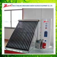 China pressurized copper coil balcony rooftop split solar water heater wholesale