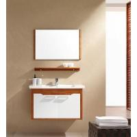 China Solid Wood Bathroom Cabinet / Furniture / Vanity (MJ-165) wholesale