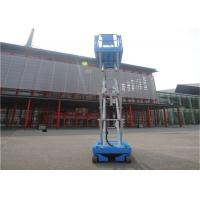 China 3.3kw Self Propelled Scissor Lift 227kg Rated Loading Capacity Multiple Disc Brakes wholesale