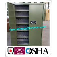 Quality Gun Safety Storage Hazardous Storage Cabinets , Weapon Safety Storage Cabinets For Gun for sale