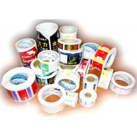 China Thermal Printing Food Label Stickers With Glossy Varnishing Surface Finishing wholesale