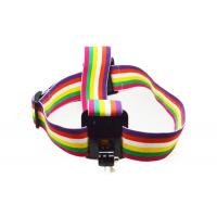 China Colorful Action Camera Head Strap Adjustable with Anti-Slide Glue wholesale