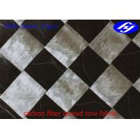 China Ultra Thin Carbon Fiber Fabric 12K T800 Wide 37GSM Carbon Fiber Spread Tow Fabric wholesale