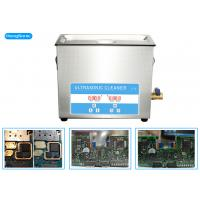 China High Frequency Ultrasonic Cleaner Electronics For Soldering PCB Board 6.5L 150 Watt wholesale