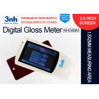 China NHG60M Digital Gloss Meter Gloss Measurement Units Connected To PC With Small Aperture wholesale
