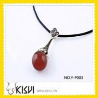 Quality Fashion Custom Gemstone Thai Copper Pendant for sale
