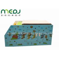 China Wood Pediatric Hospital Exam Table With Big Double Door Storage Canbinet wholesale