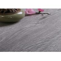 Quality Light Weight Grey WPC Vinyl Flooring 5.0mm Thickness With Diverse Design And Color for sale