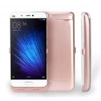 China Xiaomi5 4200Mah Rechargable Mobile Phone Battery Case With 3.5 Hours Charging Time wholesale