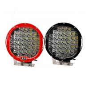 China 185W 9 Inch Led Car Spotlights , IP 68 Round Led Spot Light Fixtures wholesale