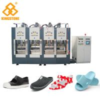 China Single Color EVA Foam Injection Molding Machine , Chappal Making Machine  wholesale