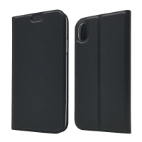 China Black Protectiveable ISO9001 Leather Flip Cases wholesale