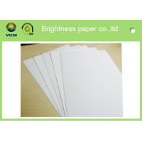 China Recycled Jewellery Boxes Paper Sheet , Coated Board Paper Folding Resistance wholesale