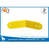 China Yellow Powder Coated Steel Frame Metal Post Brackets For Monkey Bar wholesale
