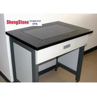 Flat Edge Laboratory Epoxy Resin Benchtop Matte Surface With 19mm Thickness
