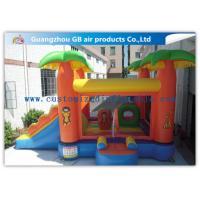 China Kids Bounce House Inflatable Patrol Jumping Castle With Slide Combo For Party wholesale