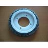 China Pure Bristle Stenter Brushes Wheel For Monforts Artos Bruckner LK Textiles Machine wholesale