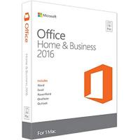 Buy cheap Mac Microsoft Office Home and Business 2016 ( Product Key Code / 1-User License ) from wholesalers