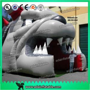 China Inflatable Bulldog Mascot Football Entrance Tunnel wholesale