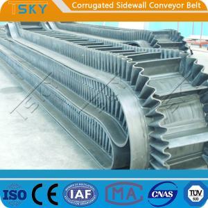 China B800 Corrugated Sidewall Rubber Conveyor Belt wholesale