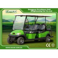 China Excar CE approved 6 seat Electric golf car,48V Trojan battery golf buggy car on sale