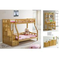 China Modern beech Wooden Bunk bed,double bunk bed,double decker bed home furniture wholesale