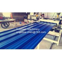 China durable high strength PVC color steel roof tile machine/production line wholesale