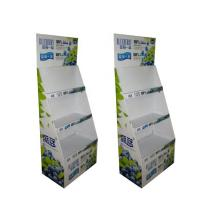 China Cardboard Display Rack Potato Chip Advertising Recycled Paper Material on sale