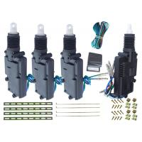 China 12V Heavy Duty Car Alarm And Central Locking System , Power Door Lock Kits With Remote wholesale