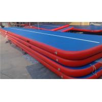 China Doubla Wall Fabric Inflatable Air Track Air Mattress Gymnastics Weather Proof wholesale