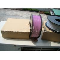 Quality High Quality 3D Printer Filament PLA 1.75mm 3mm For White To Purple  Light change  filament for sale