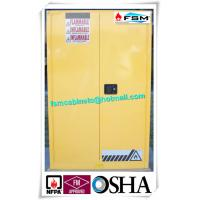 China 90 Gallon Dangerous Goods Storage Cabinets For Chemical Hazardous Liquid wholesale