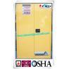 China 90 Gallon Dangerous Goods Storage Cabinets For Chemical Hazardous Liquid wholesale
