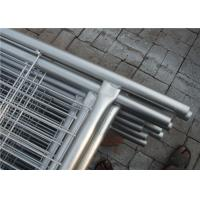 Buy cheap Australia removable pvc coated or galvanized temporary fencing 2.1*2.4m from wholesalers