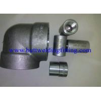 China Steel Forged Fittings ASTM A694 F80 , Elbow , Tee , Reducer ,SW, 3000LB,6000LB  ANSI B16.11 wholesale