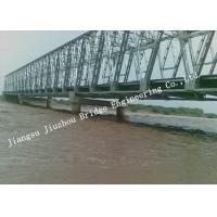 China Portable Railroad Steel Truss Bridge Temporary Simple Structure Supporting Light Gray wholesale