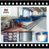 China Aluminum Alloy Rod Continuous Casting And Rolling Line For Wire Cable wholesale