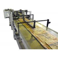 China Multi - function Food Paper Bag Making Machine With Automatic Deviation Rectifier wholesale