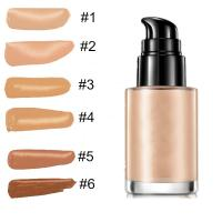 China Makeup Contouring Makeup Products , Skin Bleaching Cream Liquid Foundation on sale