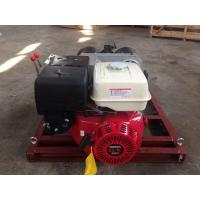 Buy cheap 5tons Double Capstan Drum Winch With Trailer Can Match Honda / Yamaha Gasoline Engine from wholesalers