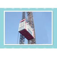 China Personnel And Material Construction Elevator Hoist In Single And Twin Cage wholesale